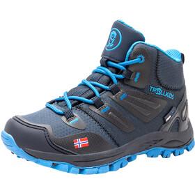 TROLLKIDS Rondane Hiker Mid Shoes Kids navy/medium blue